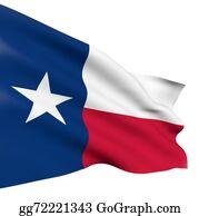 Texas-State-Flag - State Of Texas Flag