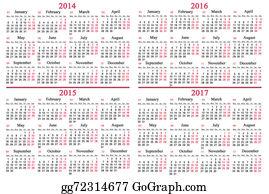 Calendar-For-January-2014 - Usual Calendar For 2014 - 2017 Years