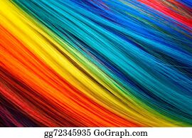 Wig - Colorful Abstract Background