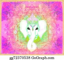 Ganesha - Creative Illustration Of Hindu Lord Ganesha