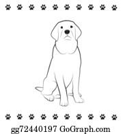 Barking-Dog - Pooch Drawing