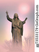 Christ-Is-Risen - Jesus Christ Monument, Artistic Background