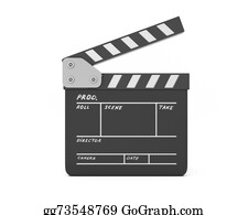 Movie-Production - Open Clapboard