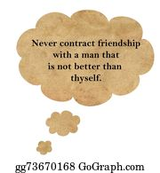 Inspirational - Inspirational Quote By Confucius On Speech Bubble Paper