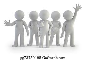 Best-Friends - 3d Small People - Best Group