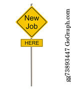 Employment - Job Road Sign