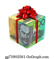 Cash-Prize - Australian Dollar Money Gift Box