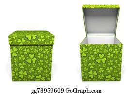 Boxing-Day - Green St. Patricks Day Present Box