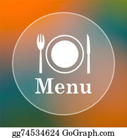 Dinner-Icons - Menu Icon