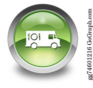 Food-Truck - Icon, Button, Pictogram Food Truck