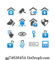 House-Alarm-Concept-Icon - Home Security Concept Icon