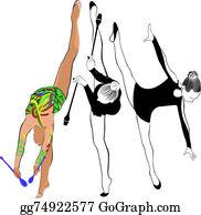 Gymnast - Girl Gymnast Athlete