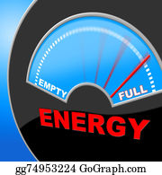 Electric-Meter - Energy Full Means Gauge Brimming And Meter