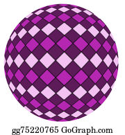 Funny-Toy-Train - Violet Ball Isolated On A White Bac