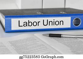 Labor-Union - Folder With The Label Labor Union