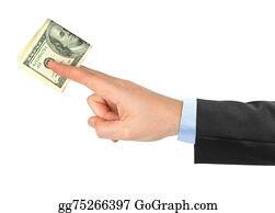 Birthday-Suit - Hand Giving Money