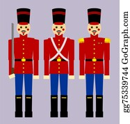 Nutcracker-Illustration - Wooden Soldiers