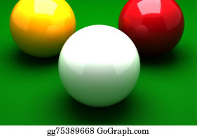 Cue-Ball - Three Ball Billiard