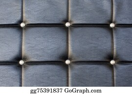 Upholstery - Black Upholstery Pattern With Diamonds