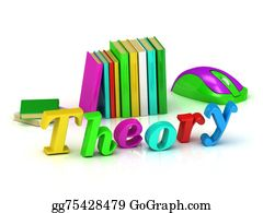 Medical-Textbook - Theory Inscription Bright Volume Letter