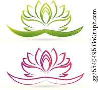 Golden-Lotus-Flower-Logo - Lotus Flower Logo Vector
