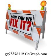 Roadworks - How Can We Fix It Barrier Barricade Sign Repair Improve Problem