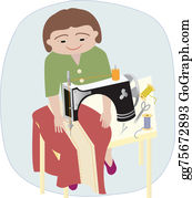 Sewing-Machine - The Seamstress