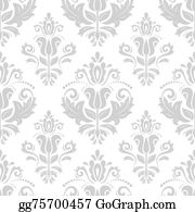 Classic-Victorian-Pattern - Orient Seamless  Pattern. Abstract Background