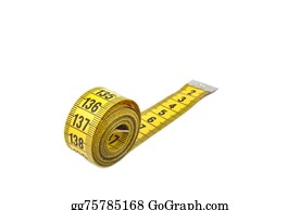 Millimeter - Tape Measure Isolated On White