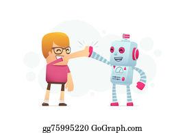 Best-Friends - Man And The Robot Best Friends.