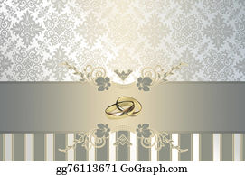 Rings - Wedding Invitation Template.