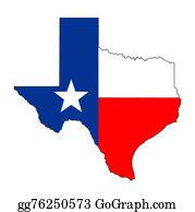 Texas-State-Flag - Texas Flag Map