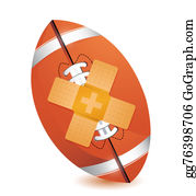 Band-Aid - Football Band Aid Fix Solution Concept