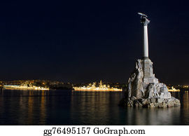 Military-Eagle-Emblem - Monument To Sunken Ships