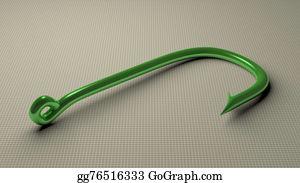 Impale - Green Fish Hook