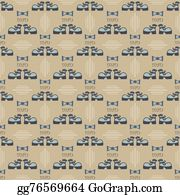 Bow-Tie - Seamless Male Pattern