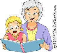 Granddaughter - Grandma Reading To Girl