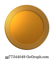 Cash-Prize - Gold Coin Medal Template