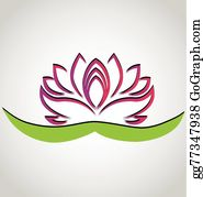 Golden-Lotus-Flower-Logo - Lotus Flower Chinese Symbol Logo