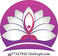 Golden-Lotus-Flower-Logo - Yoga Man Lotus White Flower Logo