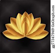 Golden-Lotus-Flower-Logo - Gold Lotus Flower Logo