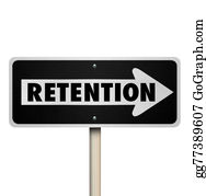 One-Direction-Road-Sign - Retention Word One Way Road Sign Retain Customers Employees