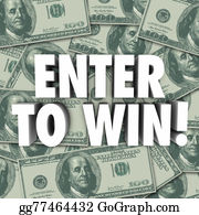 Cash-Prize - Enter To Win Money Dollars Background Contest Raffle Prize Award