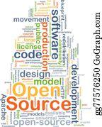 Apache - Open Source Background Concept