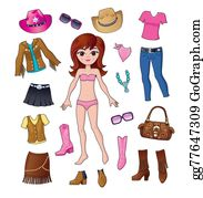 Cowboy-Boots - Western Fashion Dress Up Girl