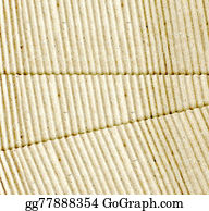 Crepes - Brown Corrugated Cardboard Sheet Background