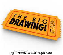 Fundraiser - The Big Drawing Raffle Ticket Contest Entry Win Big Luck