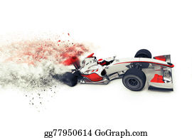 Formula-1-Racing-Car - Superfast 3d Generic Race Car