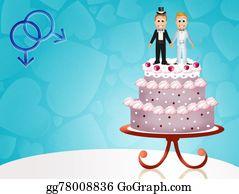 Same-Sex-Wedding - Wedding Cake For Gay Couple