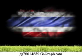 Football-Abstract - The Champion Of Thailand Soccer